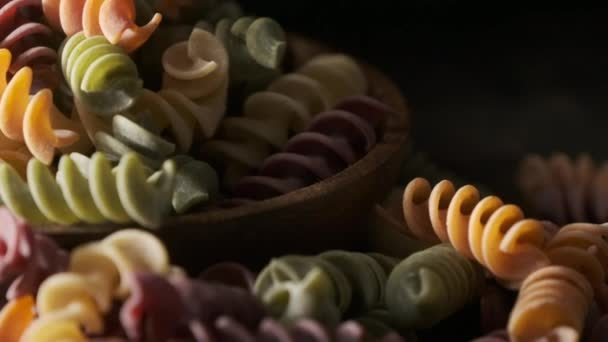 Dried Colored Fusilli Pasta