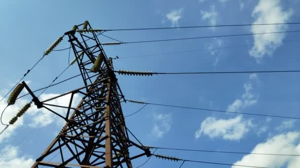 power line structures, high-voltage electrical wires,