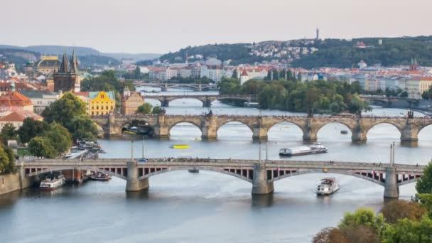 Summer timelapse of Prague, Czech Republic.