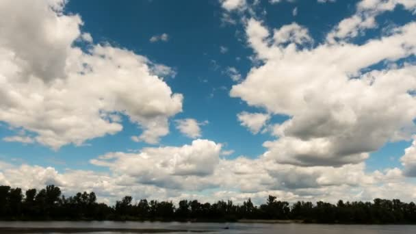 Dark and Dramatic Storm Clouds Area Background. Time lapse