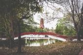 Fotografie Věku věž v Ayutthaya, starobylé město v Thajsku