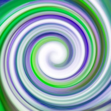 Abstract colorful spiral background stock vector