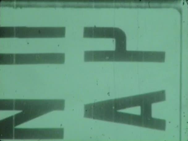 old film filmed on camera 8mm