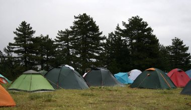 Traditional Summer Tent Camp