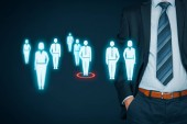 Individual customer marketing and personalization concept
