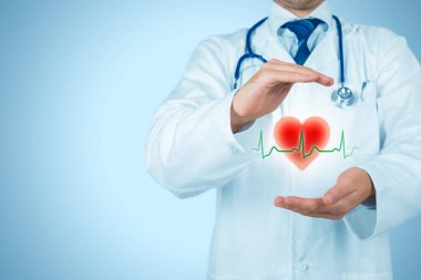 healthcare and heart problems prevention concept