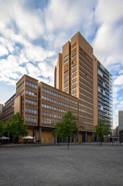 Berlin city, building at the Potsdamer platz financial district, Germany