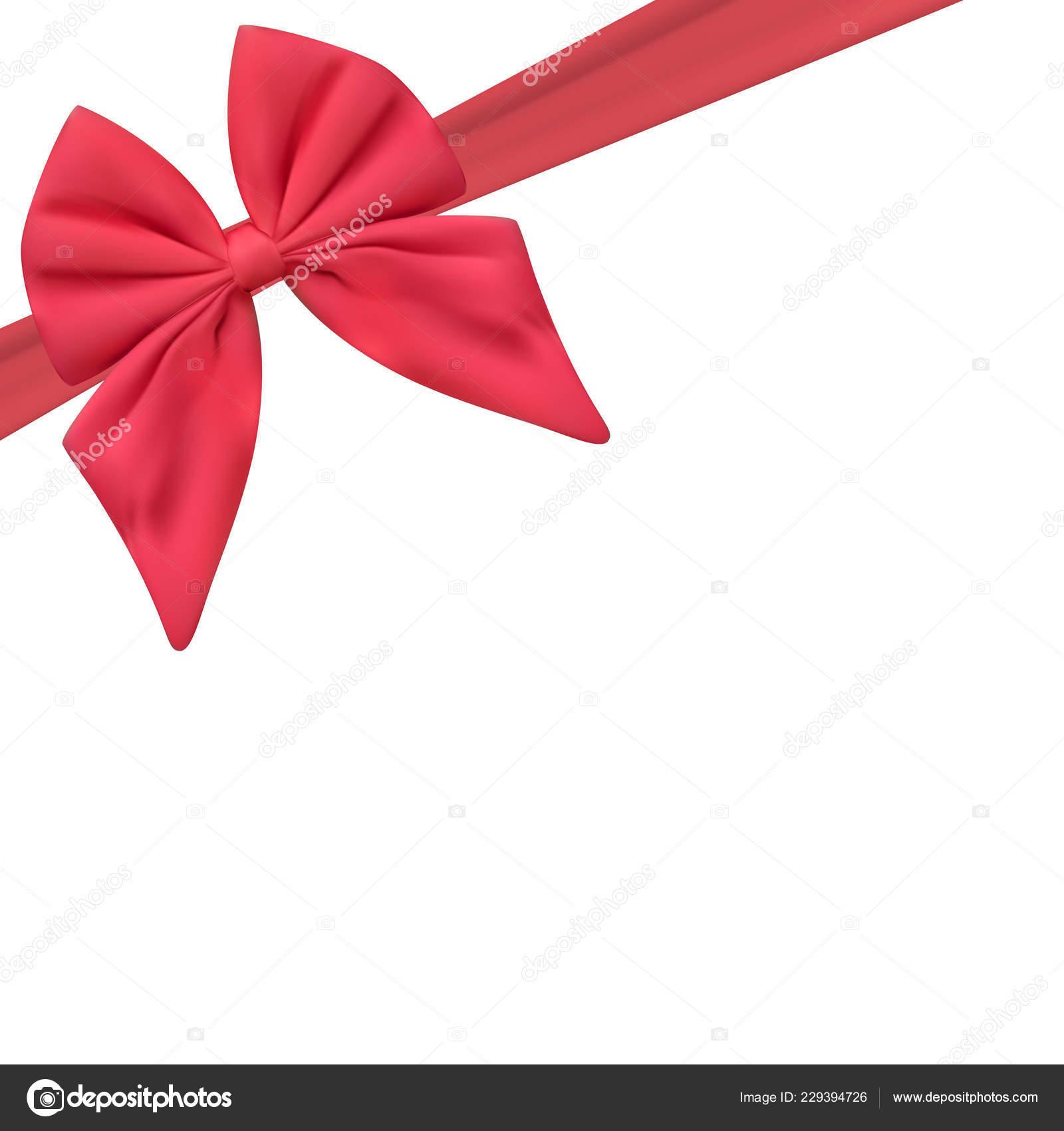 mod le carte cadeau blanc avec noeud rose ruban. Black Bedroom Furniture Sets. Home Design Ideas