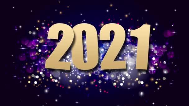 2021 Boldog Új Évet Nyaralás Háttér. Felvétel.