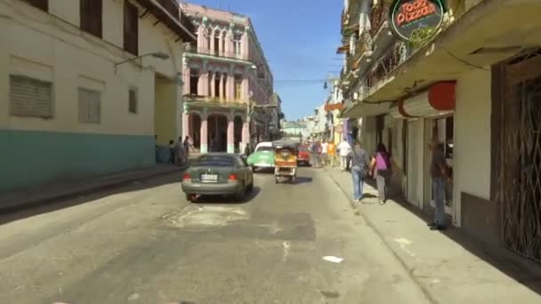 Cuba, Havana, traffic in Habana Centro district  - 29th of October 2018