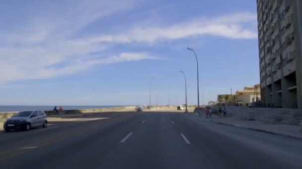 Cuba, Havana, traffic in Habana Centro district  - 29th of October 2018