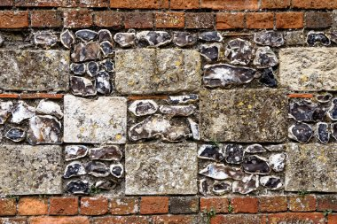 Old wall in Winchester - Texture