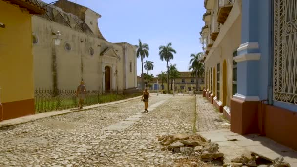Historic city of Trinidad, Cuba. Trinidad is a town in central Cuba, known for its colonial old town and cobblestone streets. 3rd of November, 2019