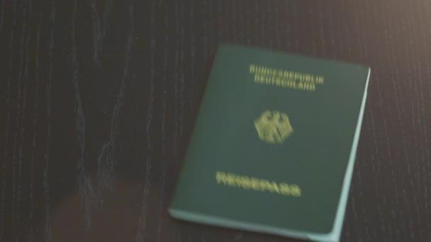 Images concept pour fond passeport voyage passeport allemand