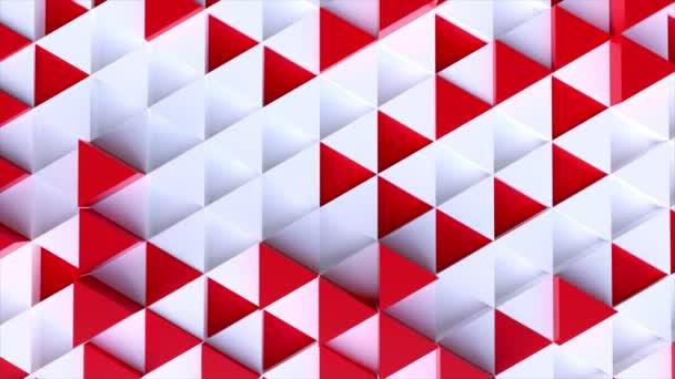 Přesun technologií šestiúhelník vzor pozadí - bezešvé smyčka 4 k