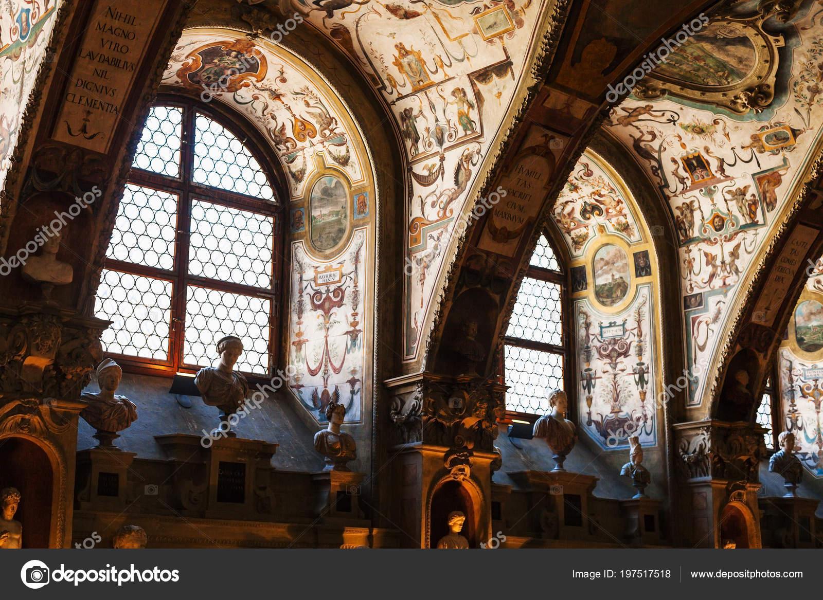München Deutschland Mai 2018 Halle Residenz Museum Münchner Residenz
