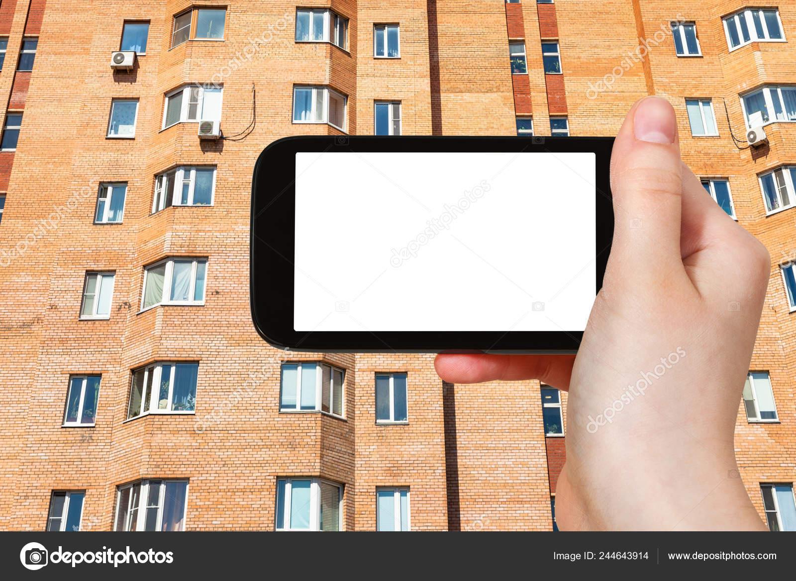 Travel Concept Tourist Photographs Facade Urban Brick Multi Storey House Stock Photo C Vvoennyy 244643914