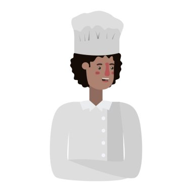 young man cook avatar character