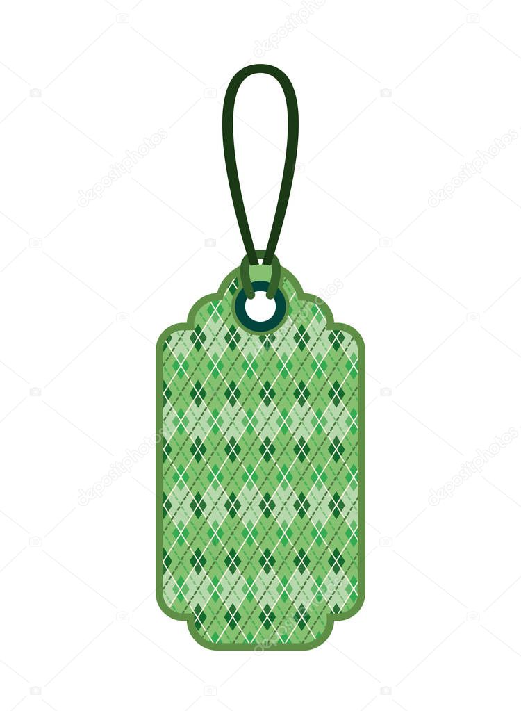 st patrick day commercial tag isolated icon