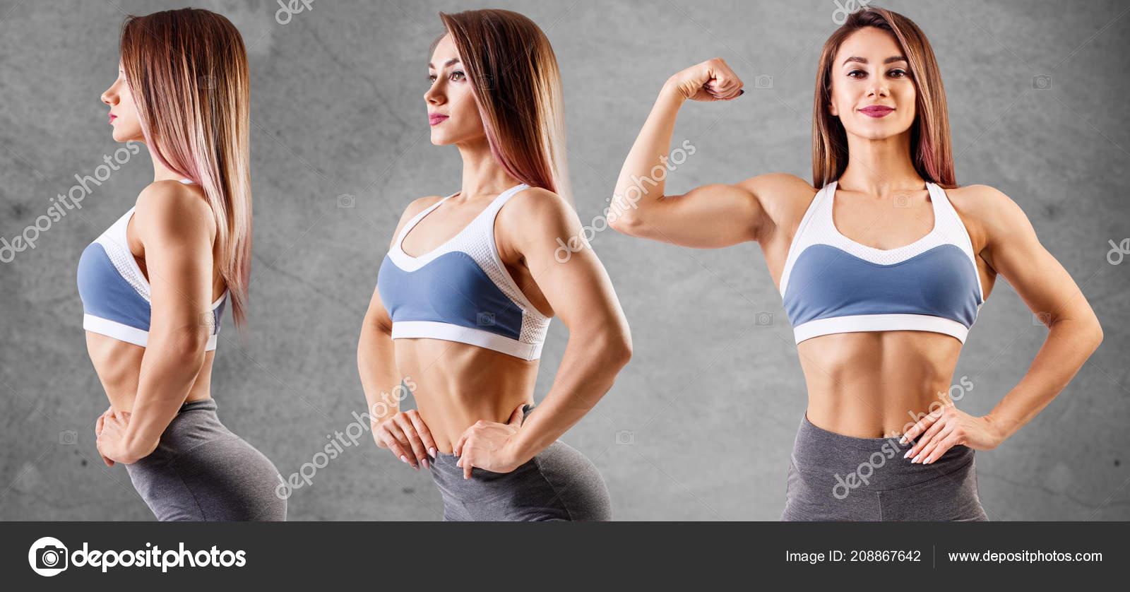 Фото красивое спортивное тело женщины 3