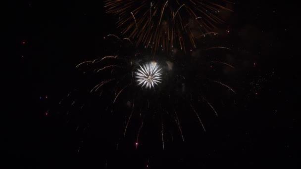 Erstaunliches Feuerwerk in der Nacht