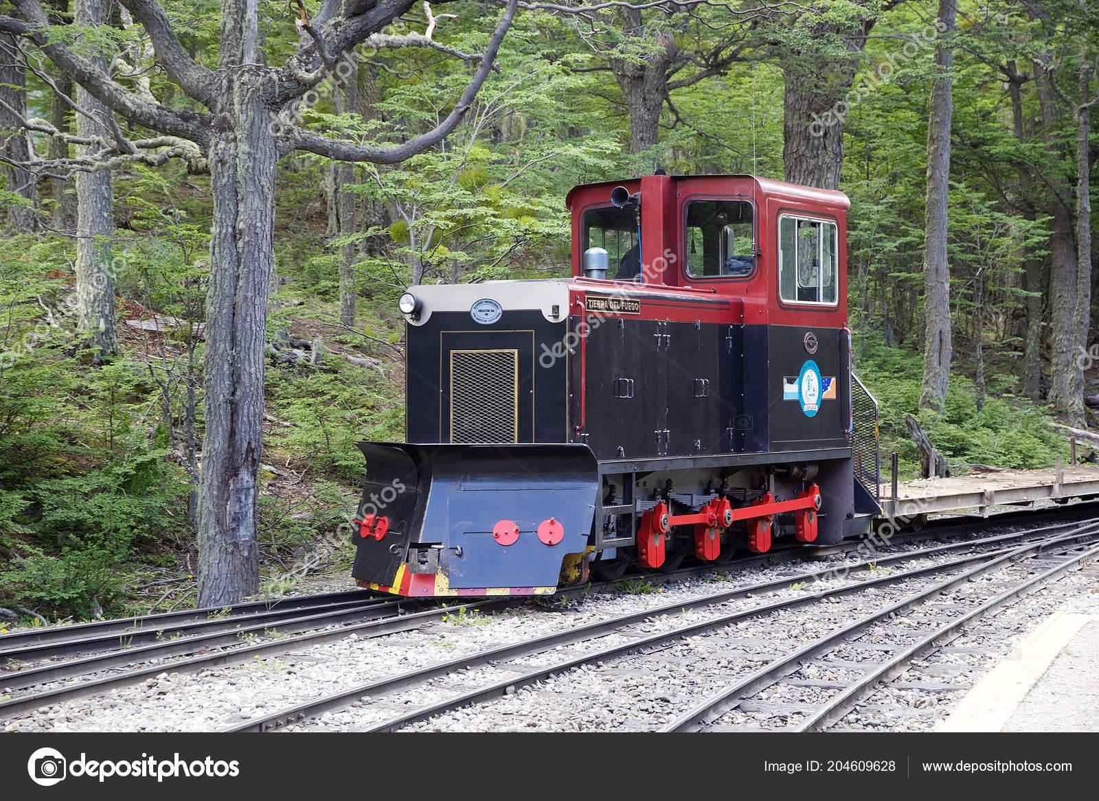 Southern Fuegian Railway Train End World Tierra Del Fuego ...