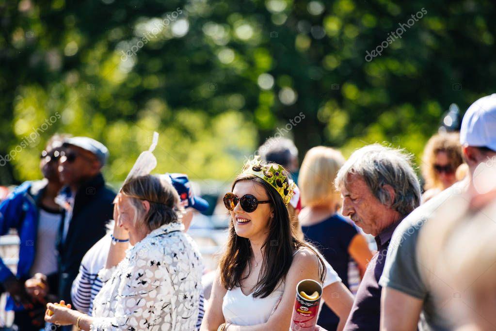 Royal Wedding atmosphere in Windsor