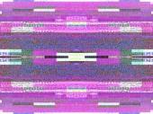 Egy nagy plazma Oled 4k smart tv-képernyő digitális televíziós zaj