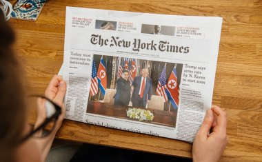The New York Times about Trump Kim meeting summet singapore