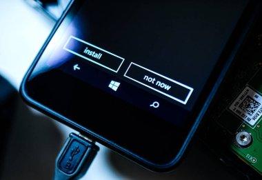 MIcrosoft Nokia Lumia smartphone telephone