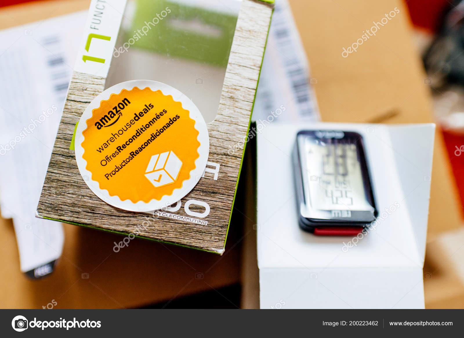 Entrepôt damazon traite autocollant photo