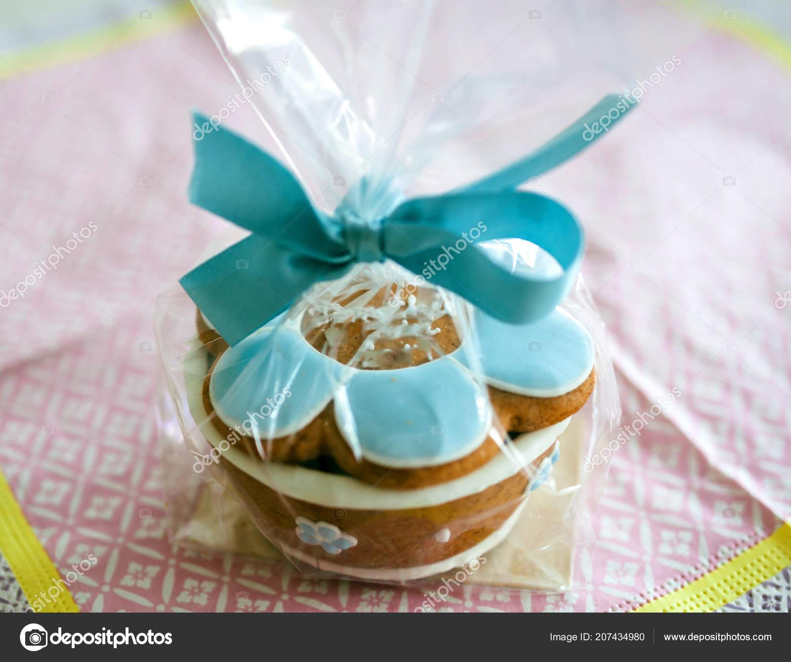 Taufe Taufe Bonbons Geschenk Fur Gaste Auf Zarte Serviette Mit