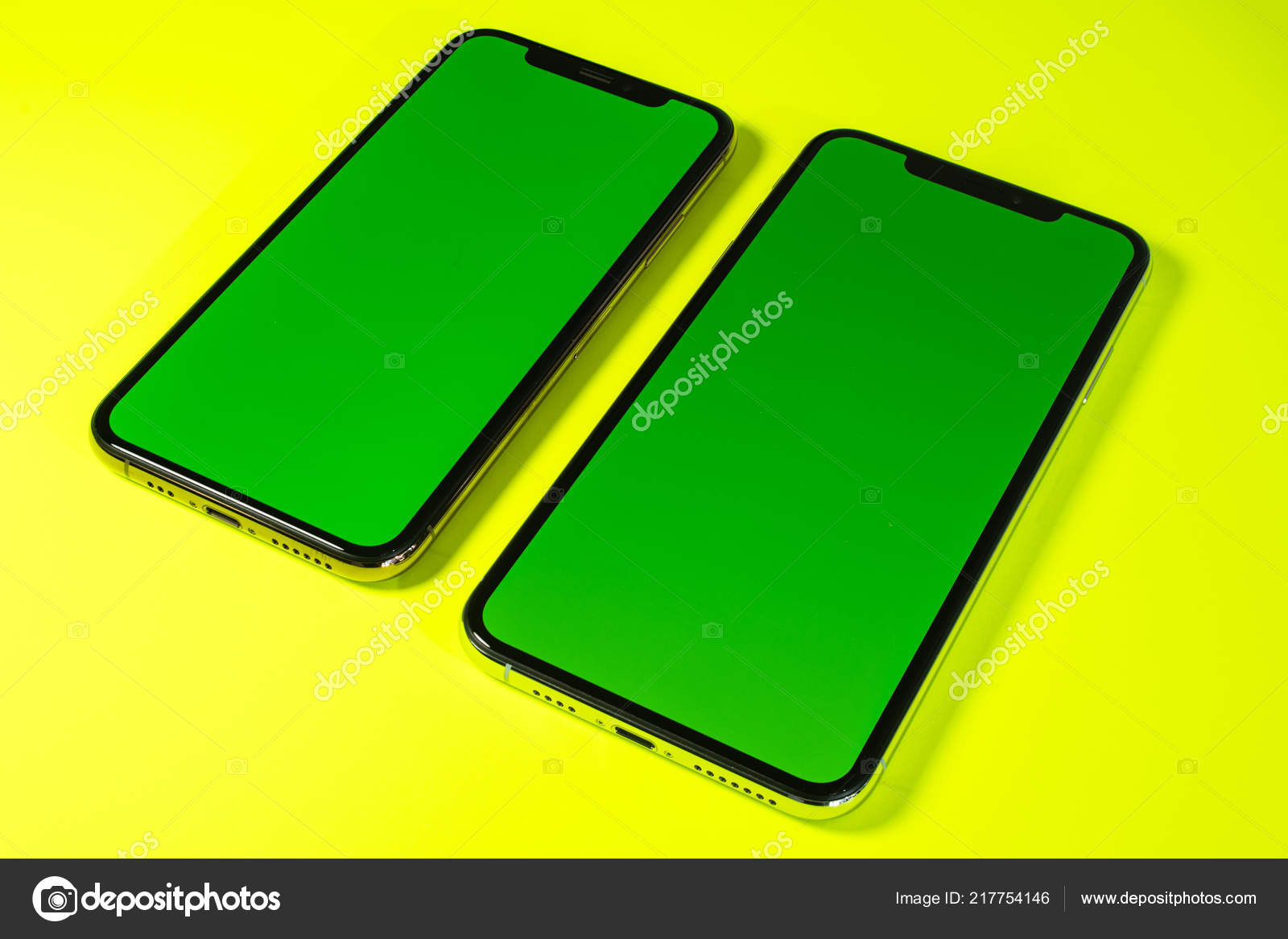 Apple Iphone Sfondo Verde Chiave Di Xs Max Verde Chroma Foto