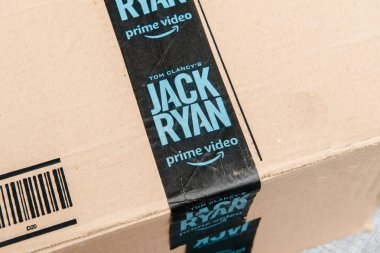 Advertising for Jack Ryan produced by Amazon Studios Prime Video