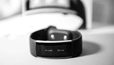 Android iPhone message on Microsoft band watch setting