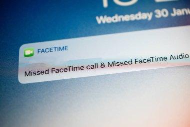 FaceTime missed calls notifications