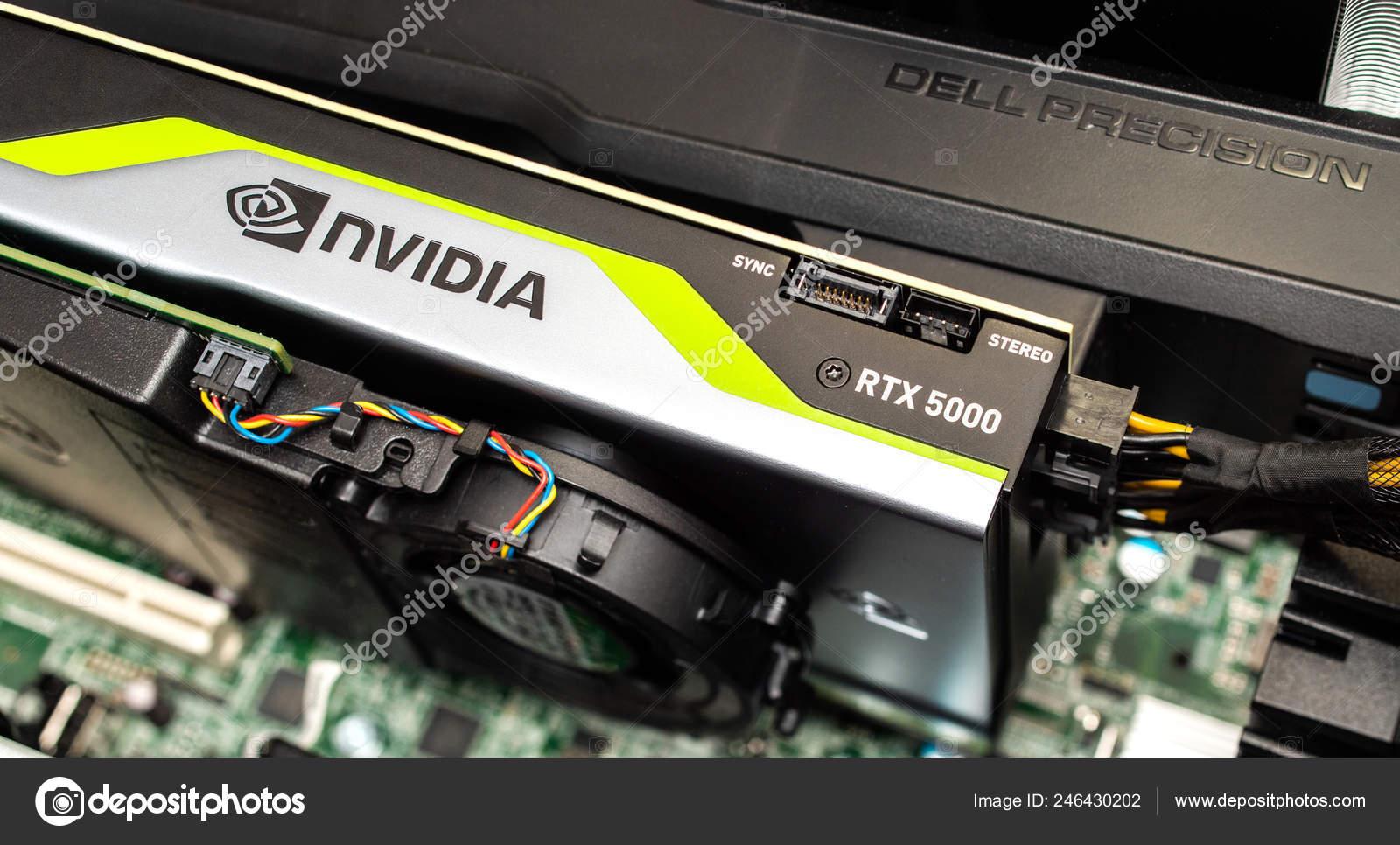 New Nvidia RTX in Dell Precision T7910 workstation – Stock
