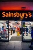 sainsburys lokalen Supermarkt in uk oxford