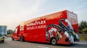 HSA Flex hydrauliky v pohybu rychle po dálnici