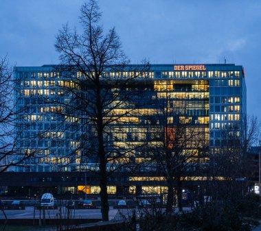 Headquarter of Der Spiegel The Mirror newspaper