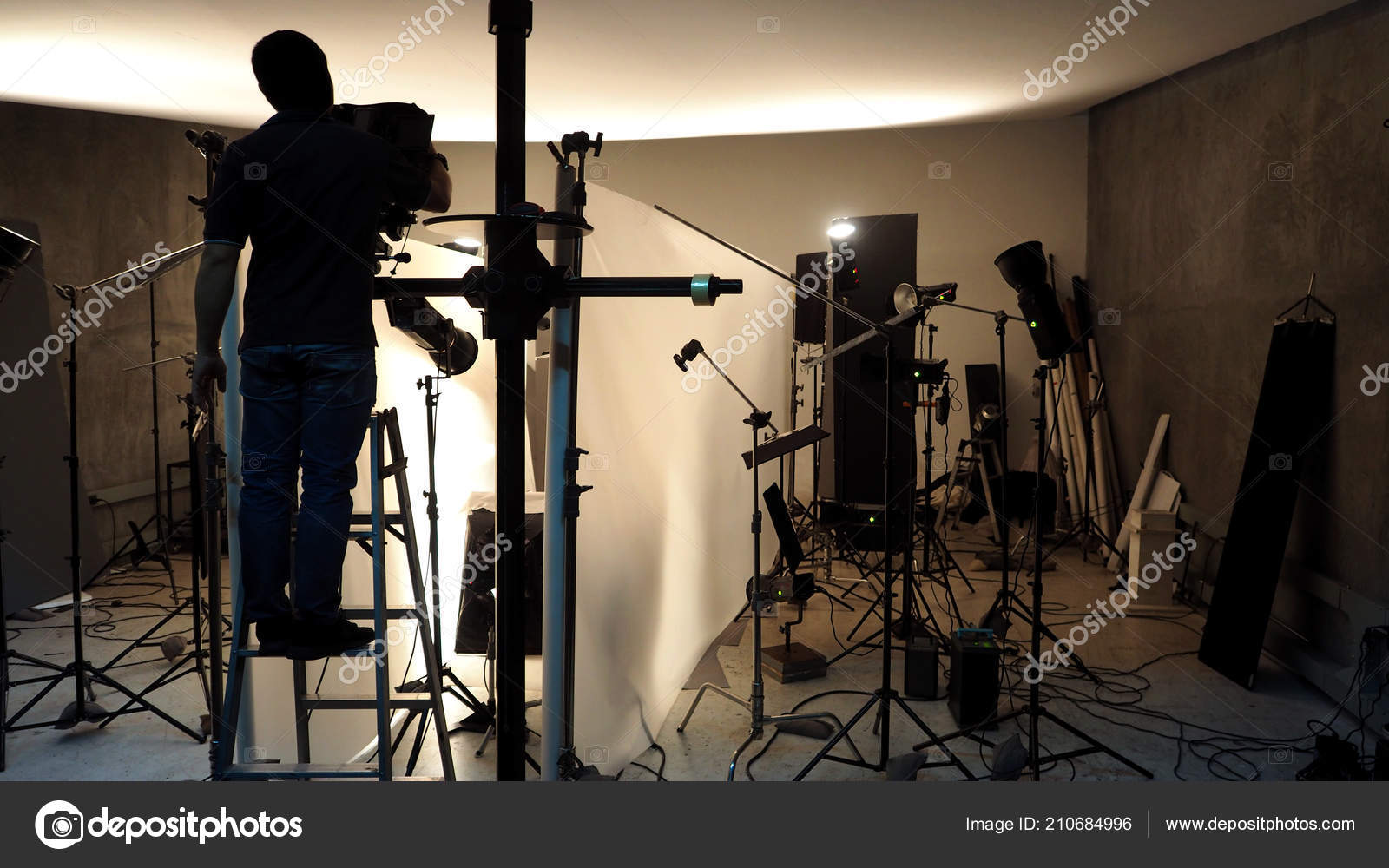 Lighting Setup Studio Commercial Works Photo Movie Video Film