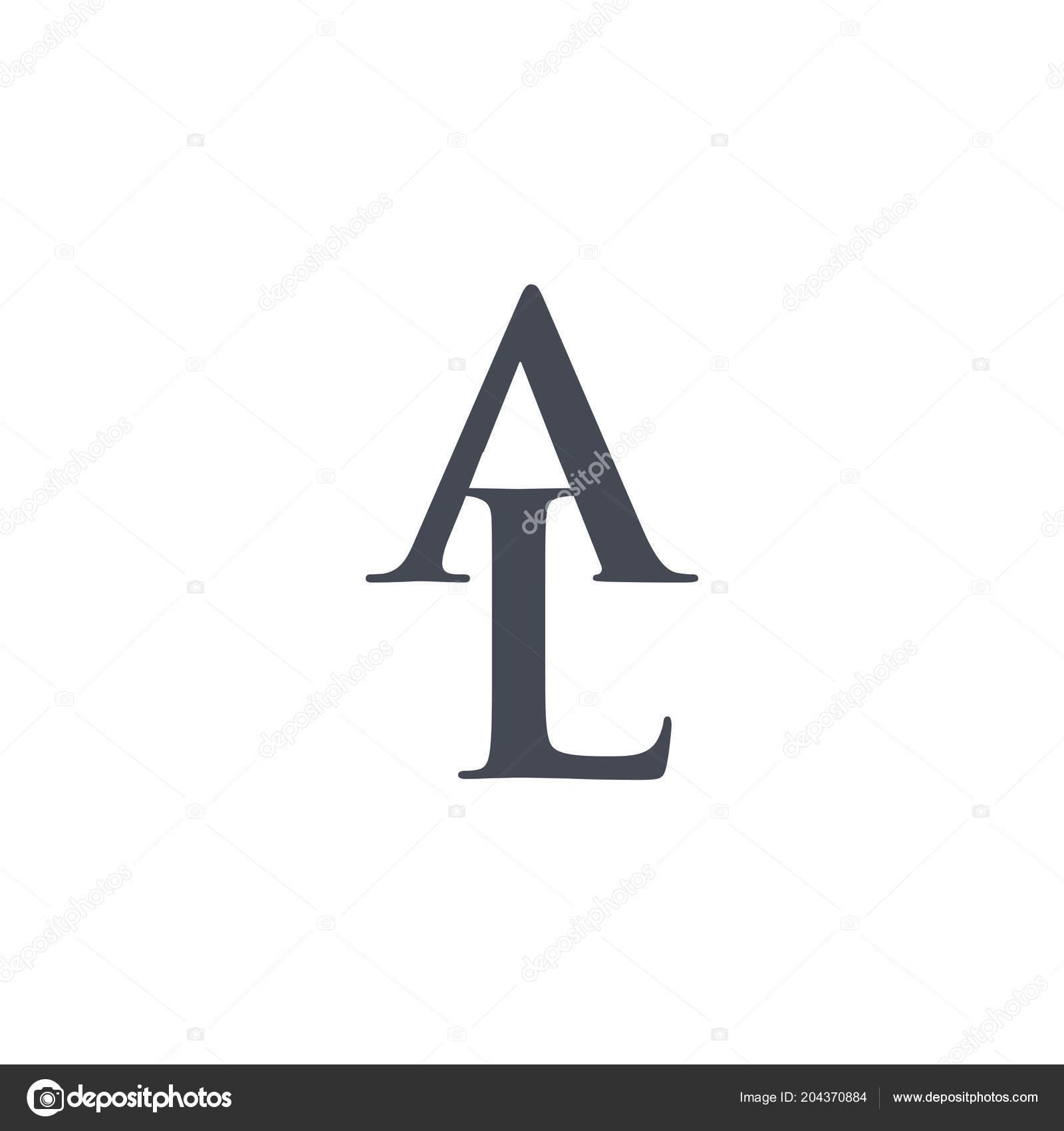 élément Conception Initiale Lettre Logo Logo Vector Template