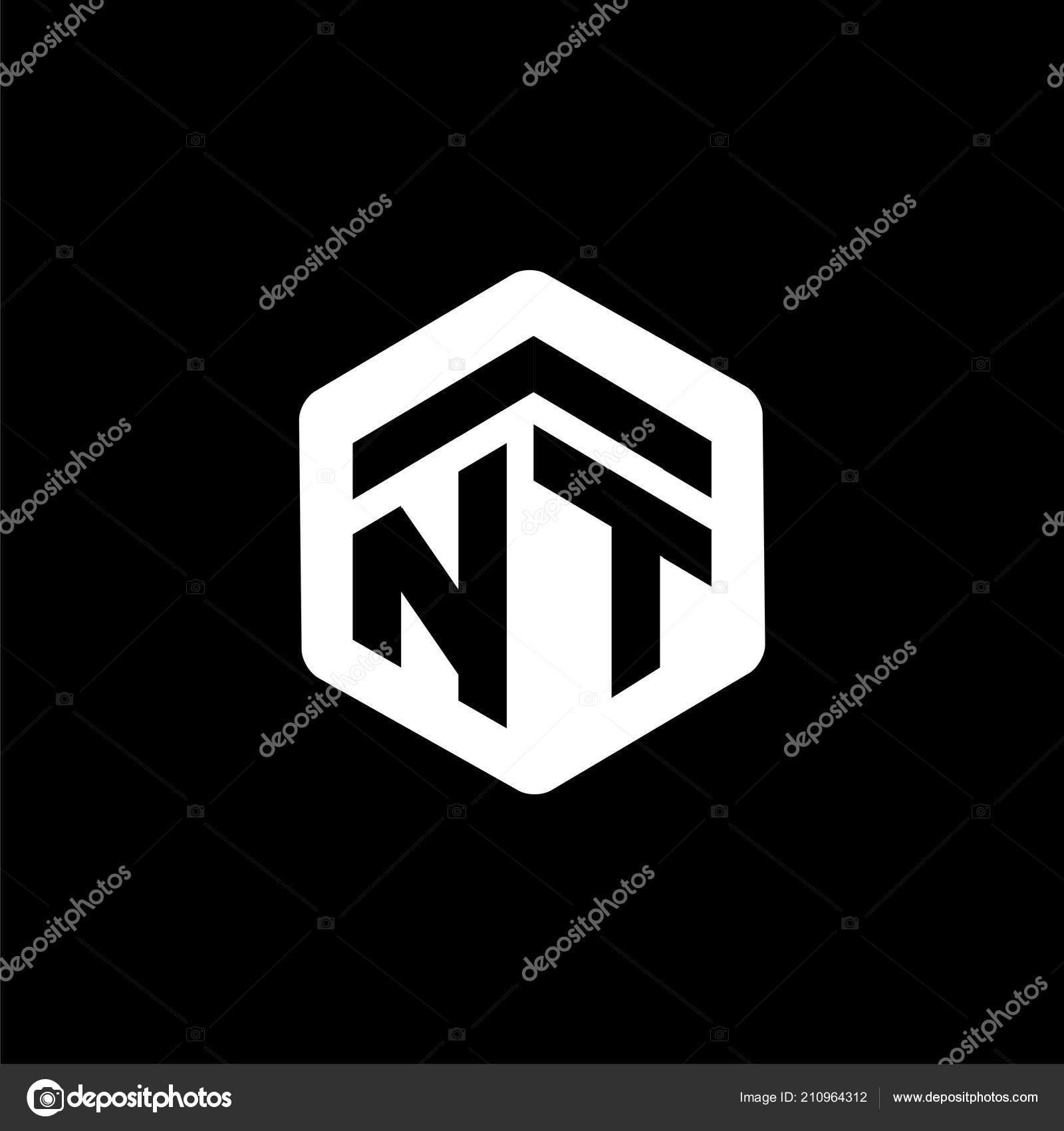 Initial Letter Hexagonal Logo Vector Stock Vector Desbayy 210964312