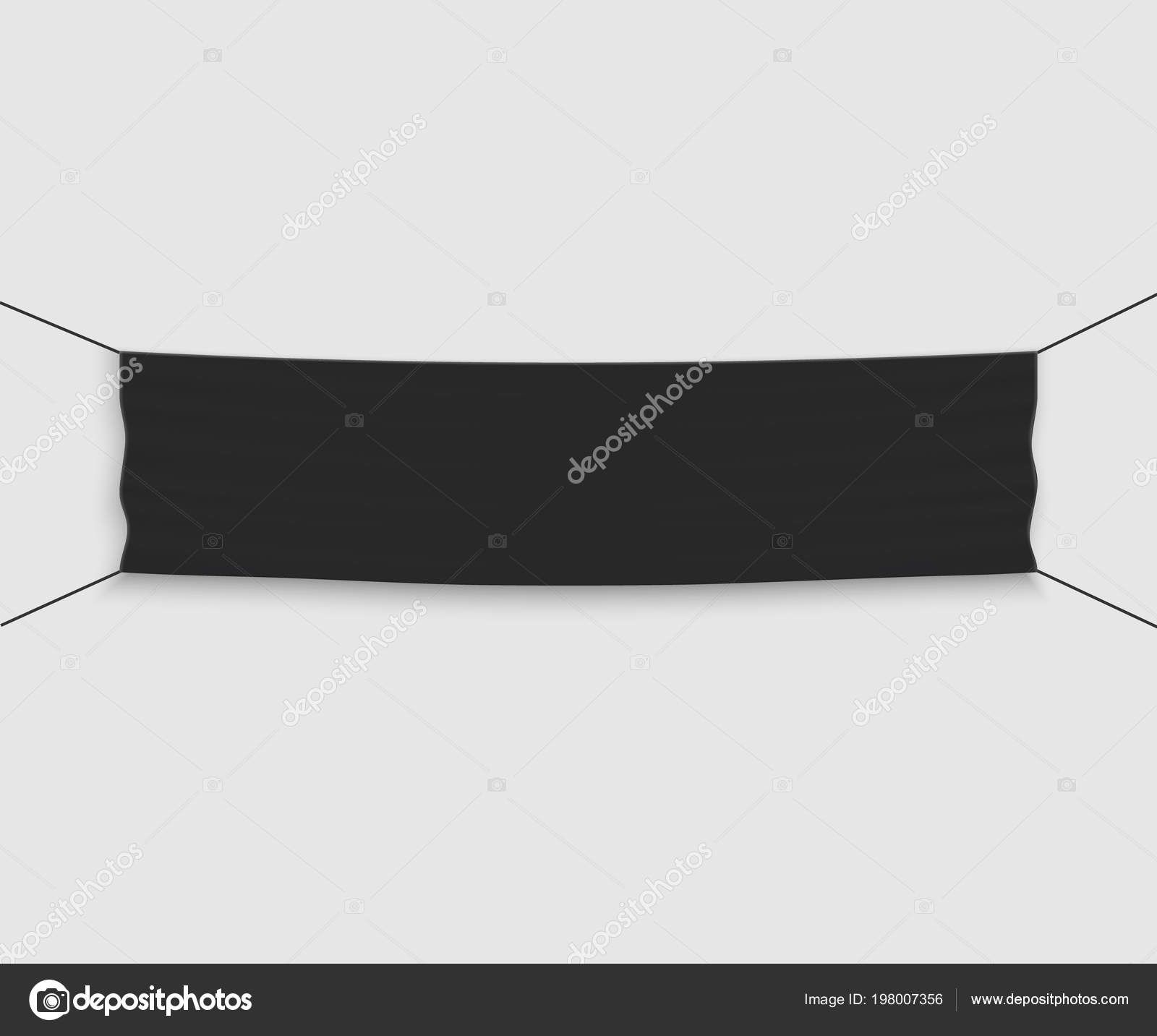 Template Vector Banner Invite Ribbon Cutting Ceremony Stock Vector