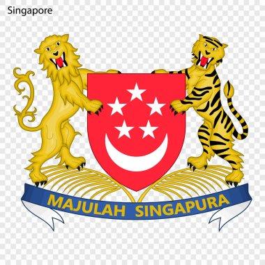 Symbol of Singapore. National emblem