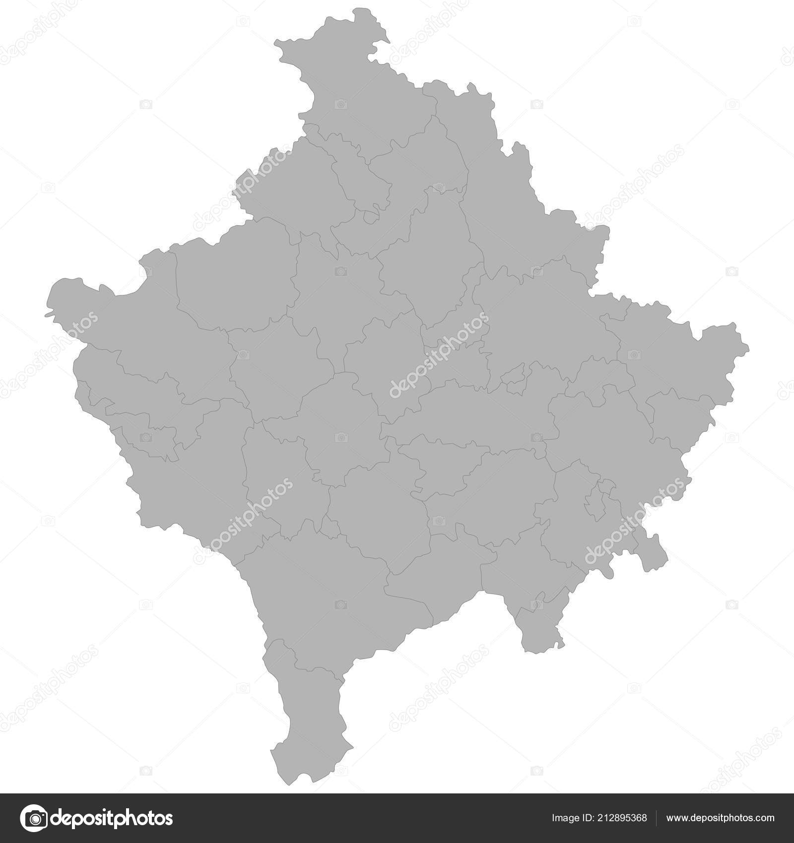 High Quality Map Kosovo Borders Regions White Background — Stock on india map, europe map, macedonia map, pri�tina, russia map, greece map, abkhazia map, vojvodina map, bosnia and herzegovina, bosnia and herzegovina map, luxembourg map, montenegro map, balkans map, road map, afghanistan map, algeria map, serbia map, malaysia map, rita ora, bosnian war, breakup of yugoslavia, kuwait map, malta map, prizren map, republic of macedonia, liechtenstein map,