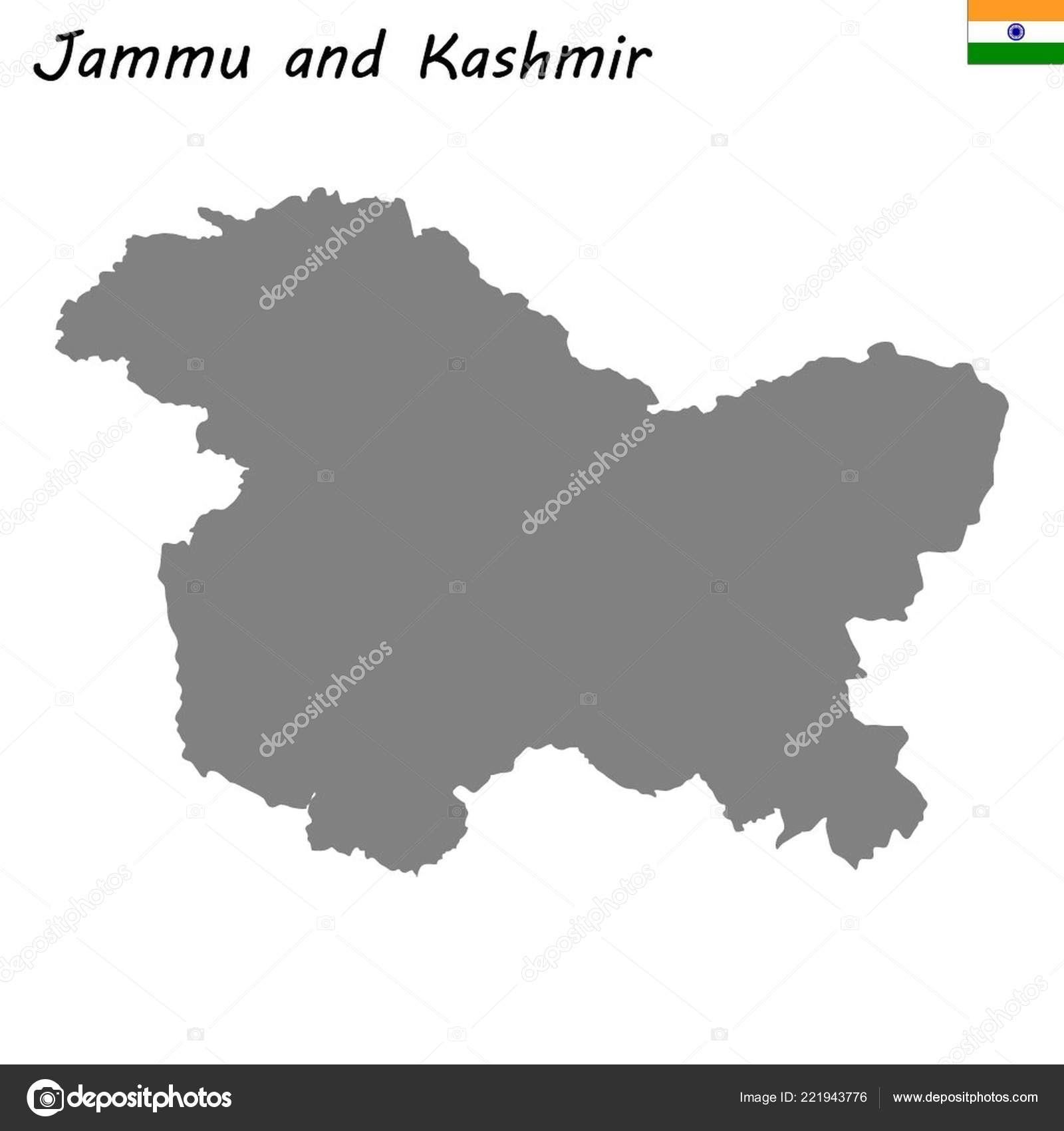 High Quality Map Jammu Kashmir State India — Stock Vector ... on indonesia on world map, rwanda on world map, khyber pass on world map, jammu on world map, jerusalem on world map, delhi sultanate on world map, orissa on world map, bangladesh on world map, pakistan on world map, philippines on world map, punjab on world map, himalayas on world map, brazil on world map, the galapagos islands on world map, chennai on world map, moscow on world map, myanmar on world map, ireland on world map, israel on world map, singapore on world map,
