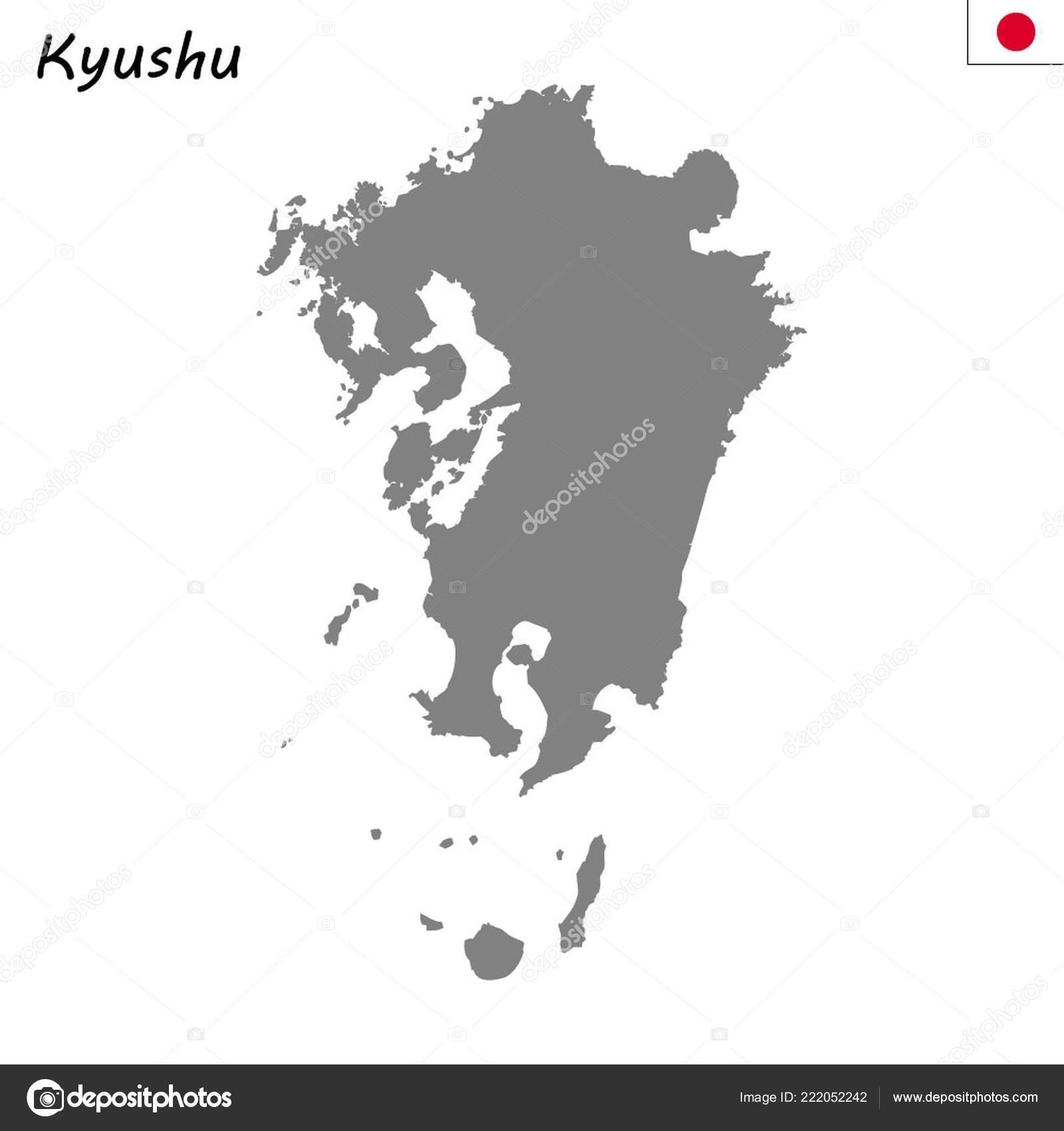 High Quality Map Kyushu Region Japan — Stock Vector ... on aomori prefecture japan map, edo japan map, thailand japan map, fukuoka japan map, kanagawa prefecture japan map, iwakuni japan map, nagano prefecture japan map, uruma japan map, minamata japan map, kuji japan map, mount koya japan map, dejima japan map, tokyo japan map, honshu japan map, gifu prefecture japan map, mt. fuji japan map, hokkaido japan map, shikoku japan map, nara japan map, nagasaki japan map,