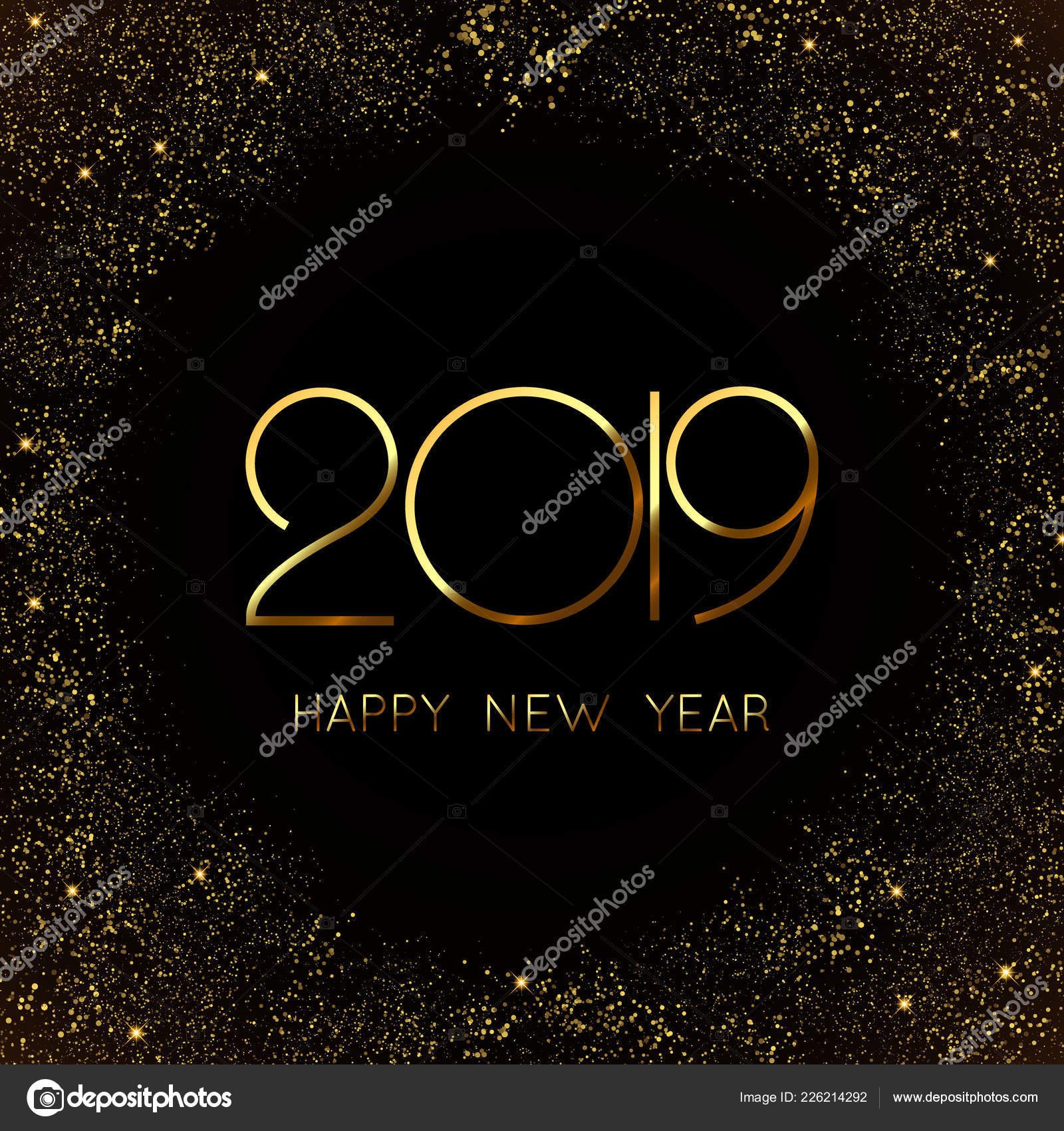 Happy New Year Design 100