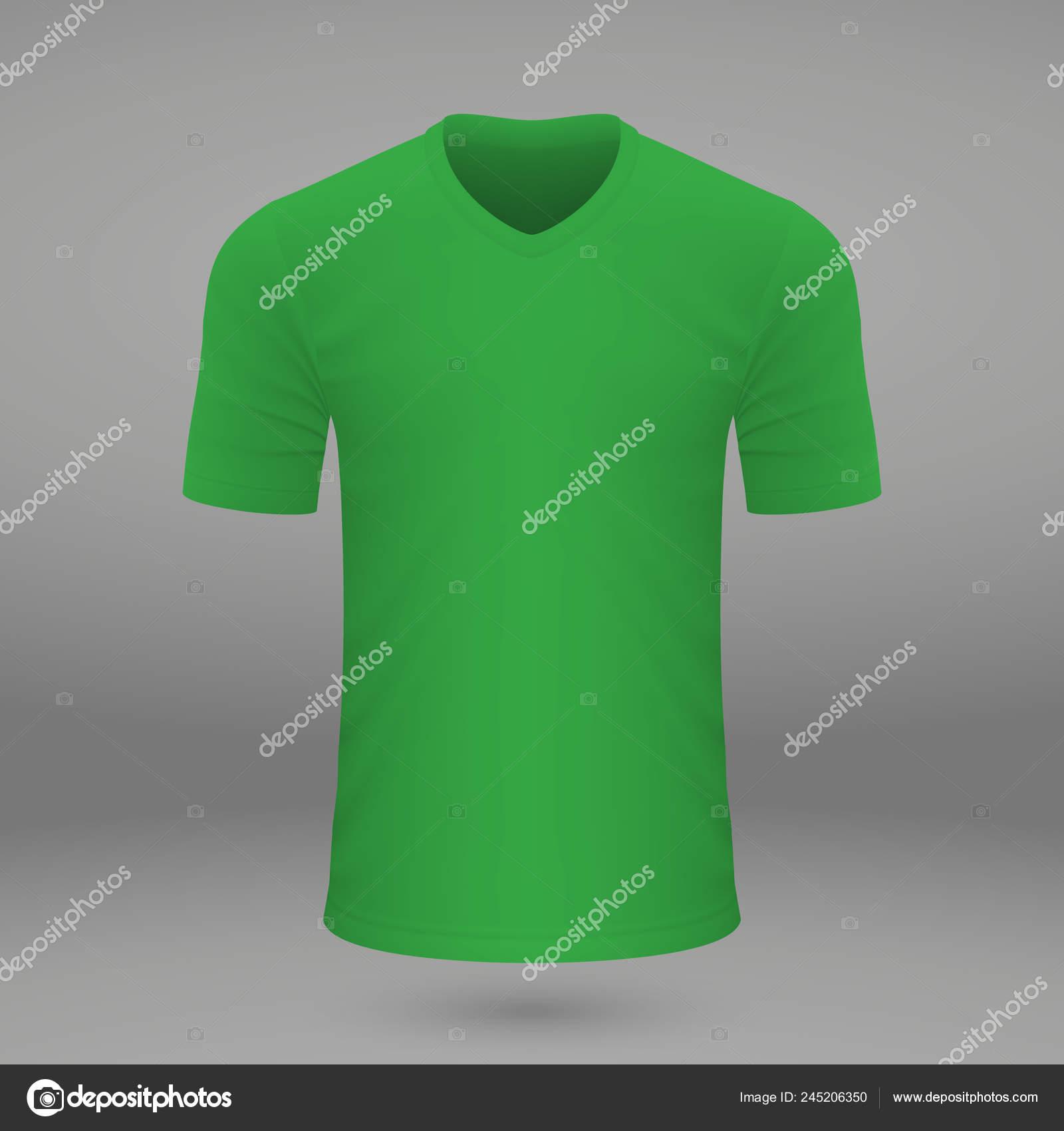 0abb00c3a Shirt Template American Football Jersey Vector Illustration — Stock Vector